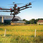 Drohnen als Helfer in der Landwirtschaft
